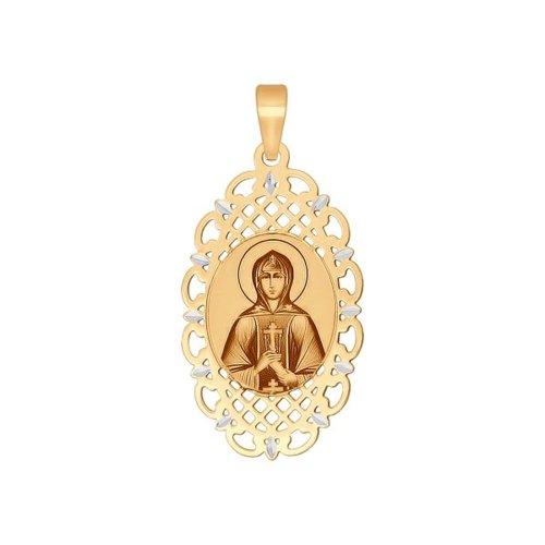 Фото - Нательная икона «Святая праведница Анна» SOKOLOV икона