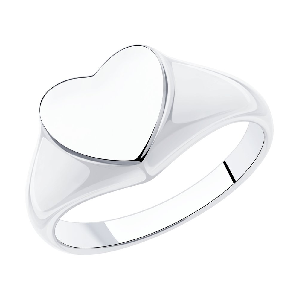 Кольцо SKLV из серебра