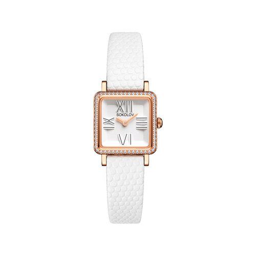 Женские золотые часы (232.01.00.001.01.02.2) - фото №2