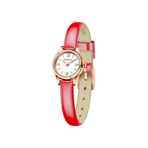 Женские золотые часы (211.01.00.000.01.07.3) - фото