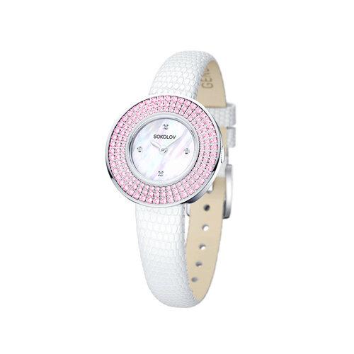 Женские серебряные часы (128.30.00.002.01.01.2) - фото