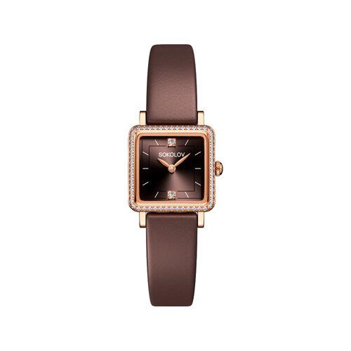 Женские золотые часы (232.01.00.100.08.08.2) - фото №2