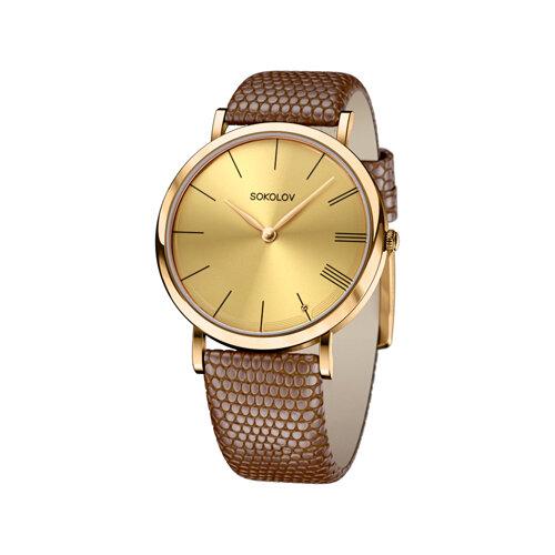 Женские золотые часы (204.02.00.000.03.03.2) - фото