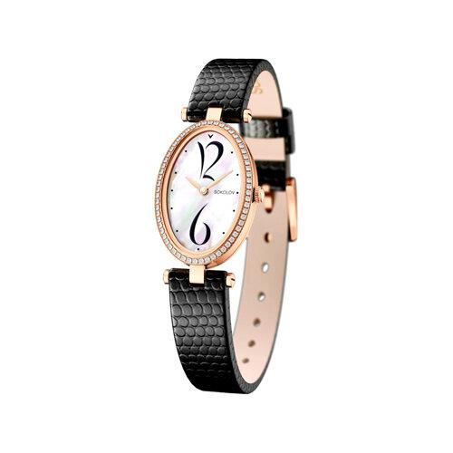 Женские золотые часы (236.01.00.100.05.01.2) - фото
