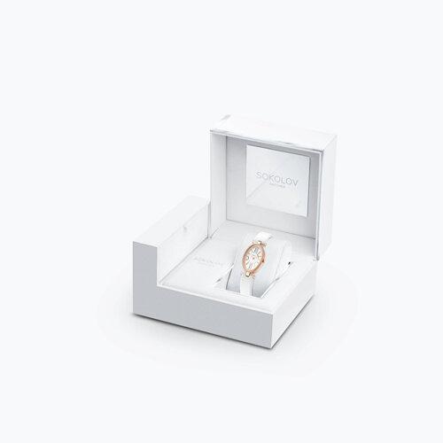 Женские золотые часы (236.01.00.100.01.02.2) - фото №3