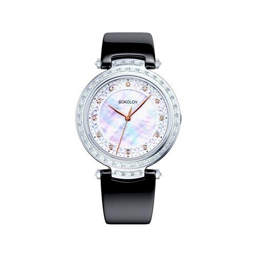 Женские серебряные часы (147.30.00.001.03.03.2) - фото №2