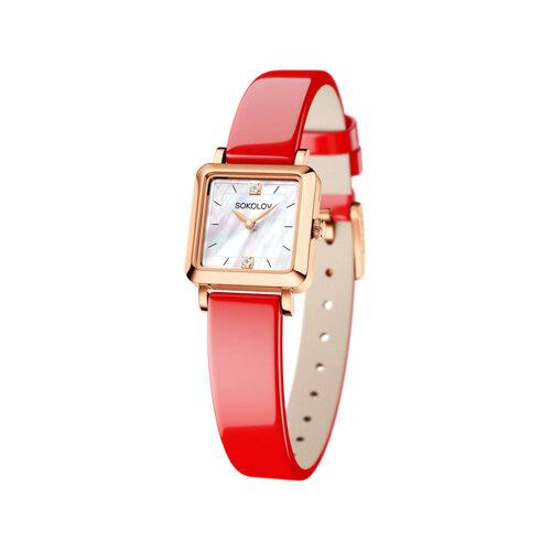 Женские золотые часы (231.01.00.000.05.06.2) - фото