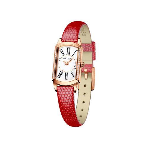 Женские золотые часы (222.01.00.100.01.04.3) - фото