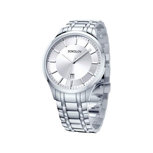 Мужские стальные часы (312.71.00.000.01.01.3) - фото