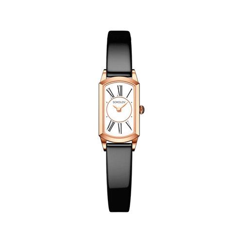 Женские золотые часы (221.01.00.000.01.05.3) - фото №2