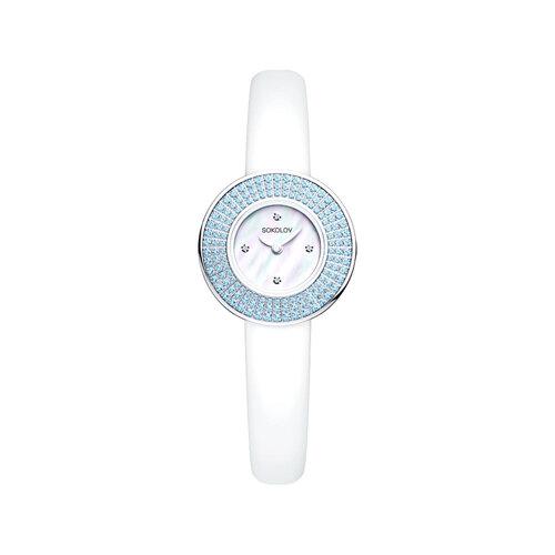 Женские серебряные часы (128.30.00.003.01.02.2) - фото №2