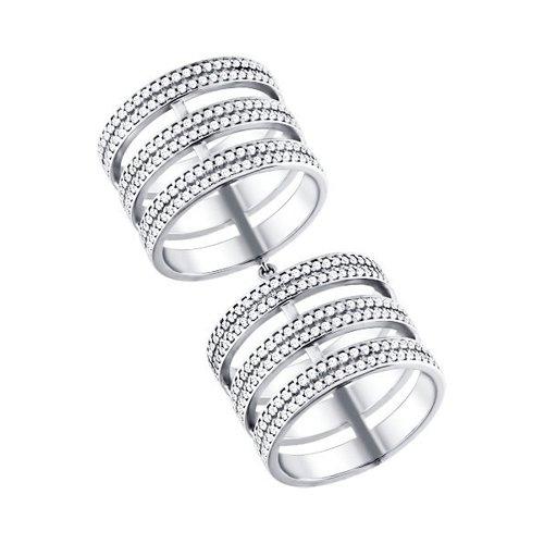 Кольцо на две фаланги SOKOLOV