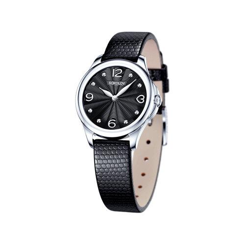 Женские серебряные часы (136.30.00.000.02.01.2) - фото
