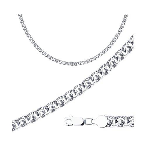 Цепь SOKOLOV из серебра с алмазной гранью фото