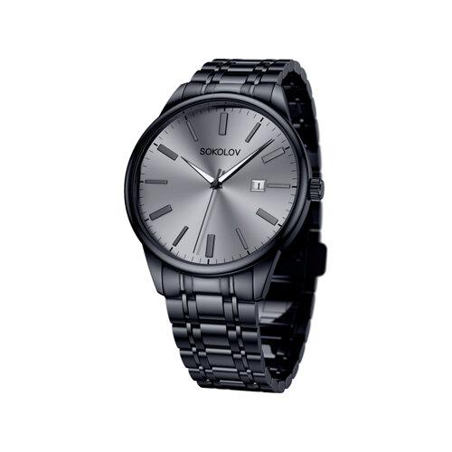 Мужские стальные часы (313.75.00.000.03.02.3) - фото