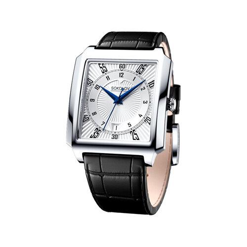 Мужские серебряные часы (134.30.00.000.08.01.3) - фото