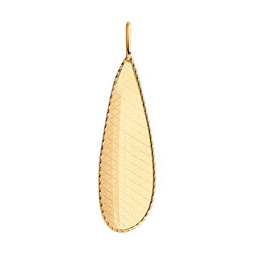 Подвеска из золота (035606) - фото