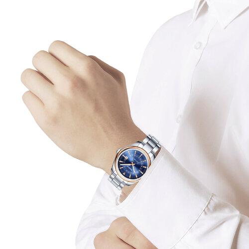 Мужские часы из золота и стали (157.01.71.000.04.01.3) - фото №3