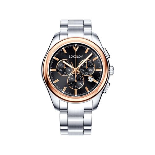 Мужские часы из золота и стали (139.01.71.000.03.01.3) - фото №2