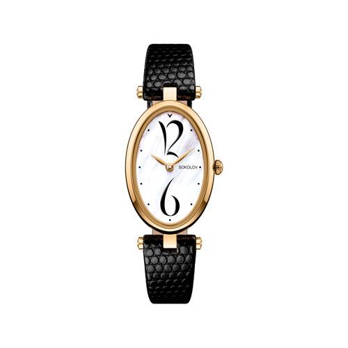 Женские золотые часы (235.02.00.000.05.01.2) - фото №2