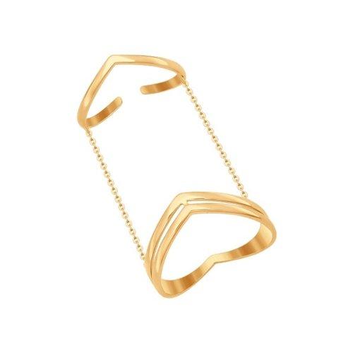 Кольцо на две фаланги SOKOLOV из золота