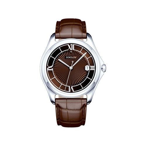 Мужские серебряные часы (135.30.00.000.04.03.3) - фото №2