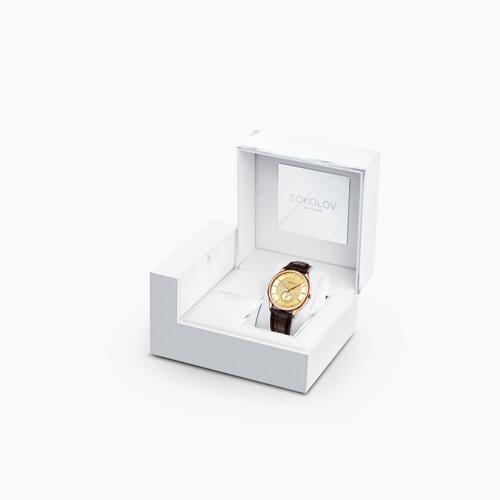 Мужские золотые часы (237.01.00.000.04.02.3) - фото №4