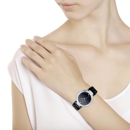 Женские серебряные часы (147.30.00.001.02.01.2) - фото №3