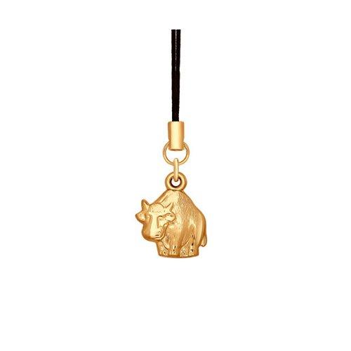 Брелок знак зодиака SOKOLOV из золота