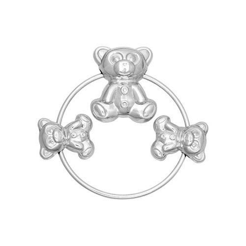 Погремушка для детей «Мишутка» SOKOLOV из серебра клоран гель для детей