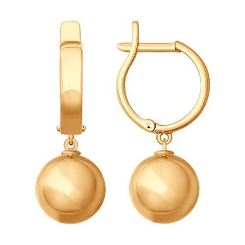 Серьги из золота (027756) - фото