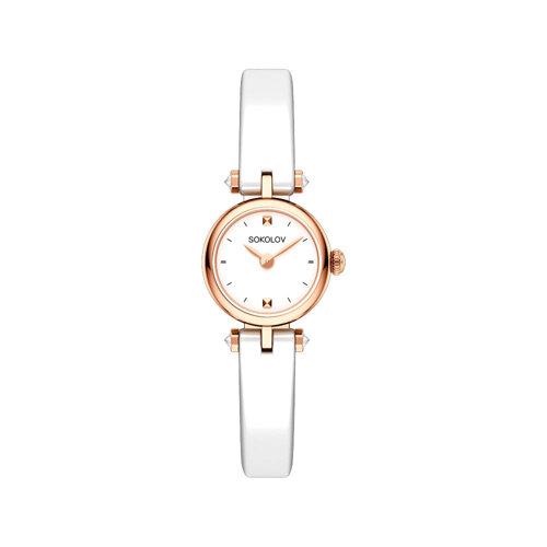 Женские золотые часы (215.01.00.000.01.06.2) - фото №2