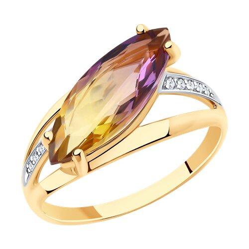 Кольцо из золота (715917) - фото