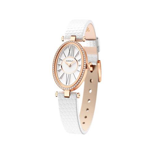 Женские золотые часы (236.01.00.100.01.02.2) - фото