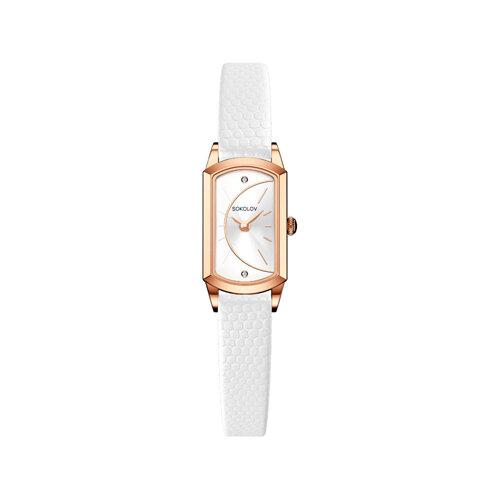 Женские золотые часы (221.01.00.000.04.02.3) - фото №2