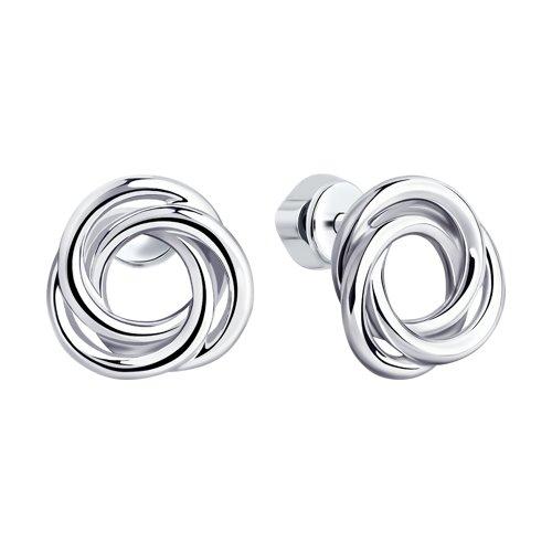 Серьги из серебра (94023800) - фото №2