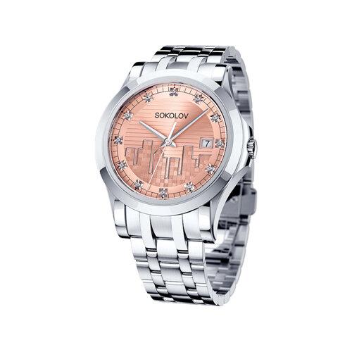 Женские стальные часы (303.71.00.000.04.01.2) - фото