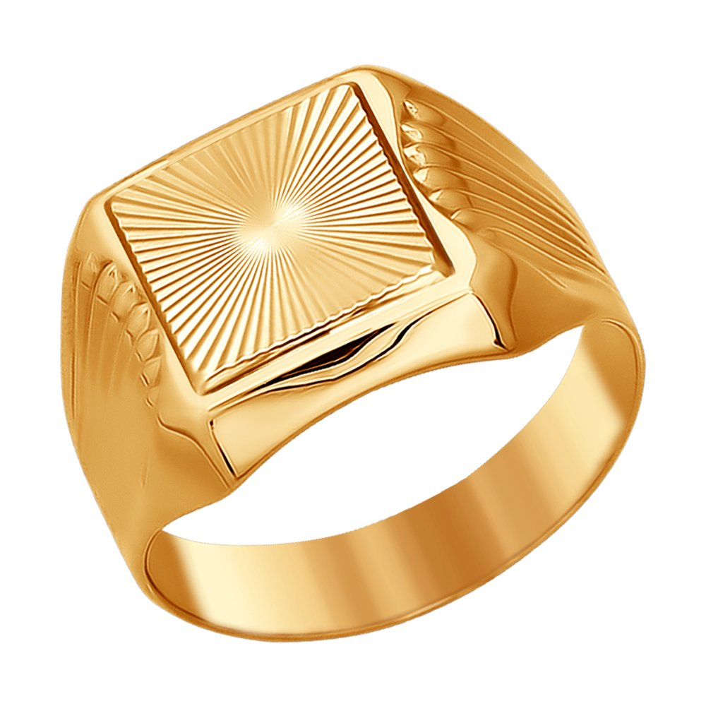 Кольцо SOKOLOV из золота с алмазной гранью золотое кольцо крыло с алмазной гранью sokolov