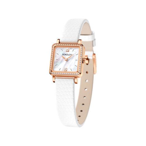 Женские золотые часы (232.01.00.100.05.02.2) - фото