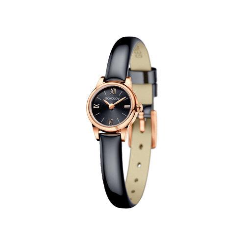 Женские золотые часы (211.01.00.000.03.05.3) - фото