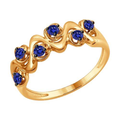 Кольцо из золота (2011076) - фото