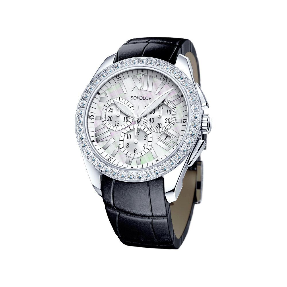 Женские серебряные часы SOKOLOV фото