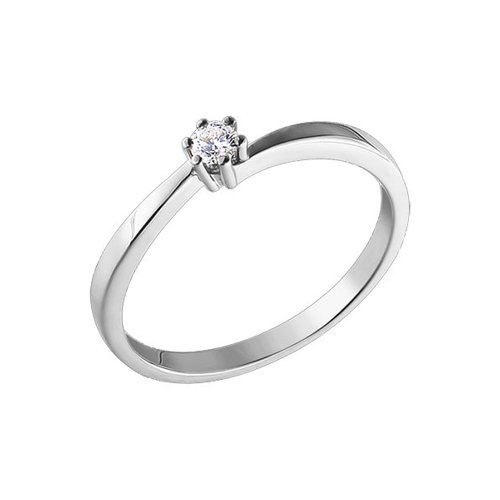Помолвочное кольцо SOKOLOV из белого золота с бриллиантом набор фломастеров birello двусторонних 12 цв в картонном конверте