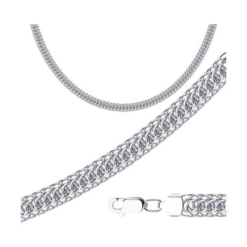 Цепь из серебра с алмазной гранью (968300702) - фото