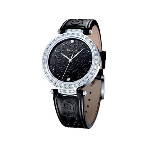 Женские серебряные часы (147.30.00.001.02.01.2) - фото