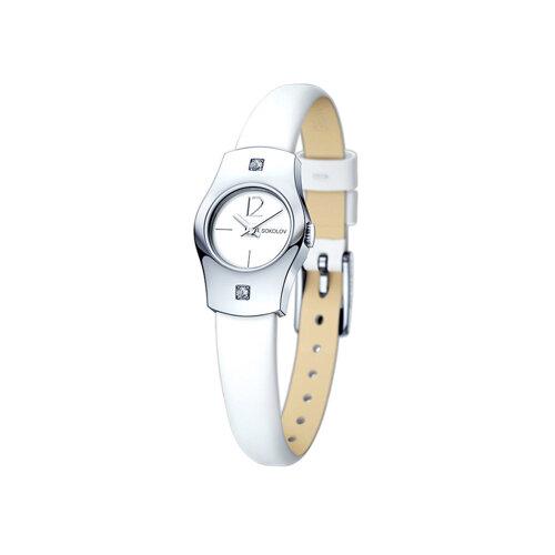 Женские серебряные часы (123.30.00.001.04.02.2) - фото