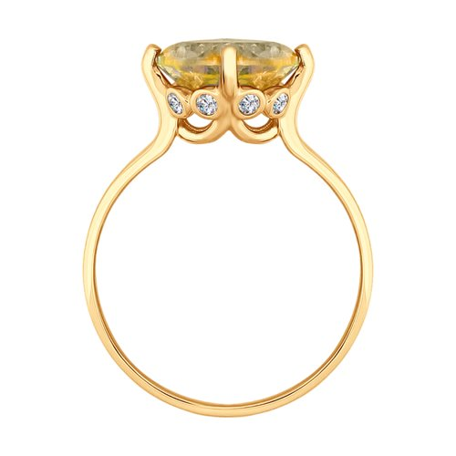 Кольцо из золота (714915) - фото №2