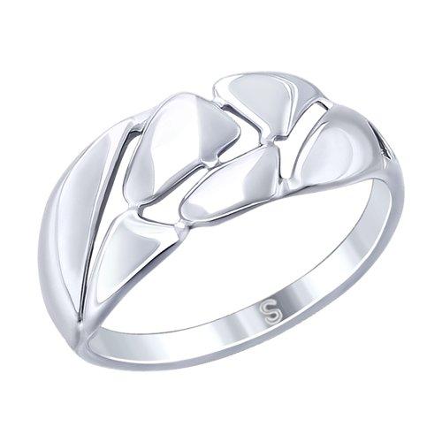 Кольцо из серебра (94012539) - фото