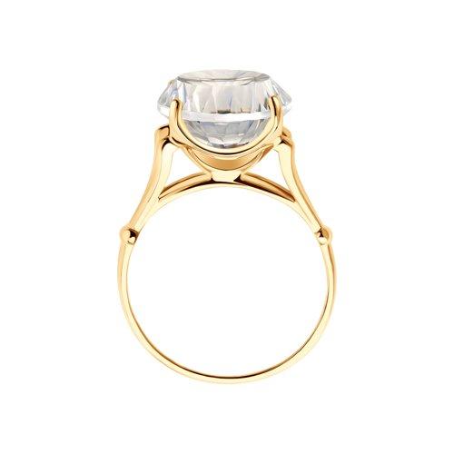 Перстень с горным хрусталём 711218 SOKOLOV фото 2