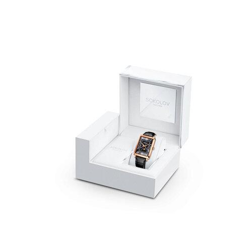 Мужские золотые часы (233.01.00.000.02.01.3) - фото №4